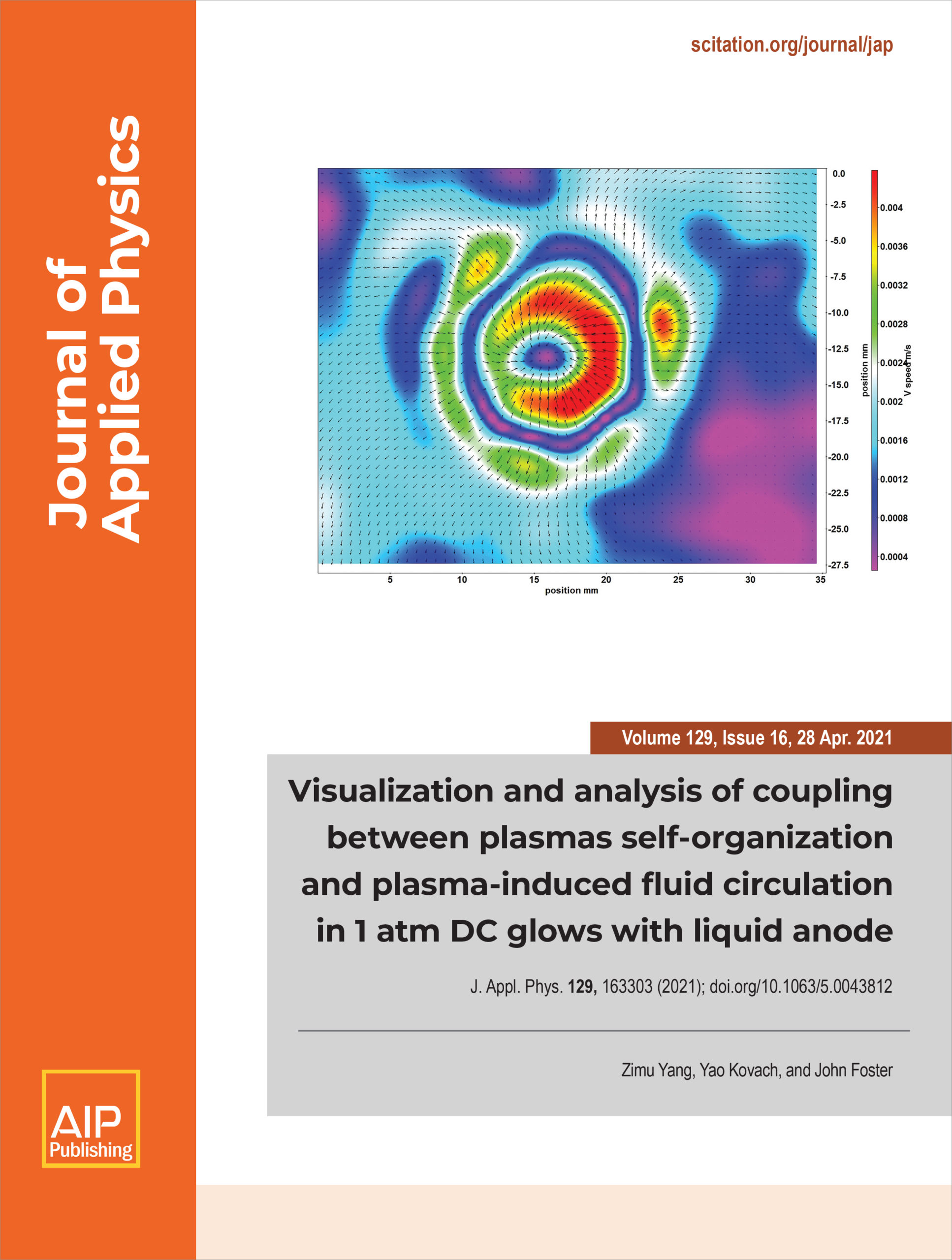 cover of Journal of Applied Physics