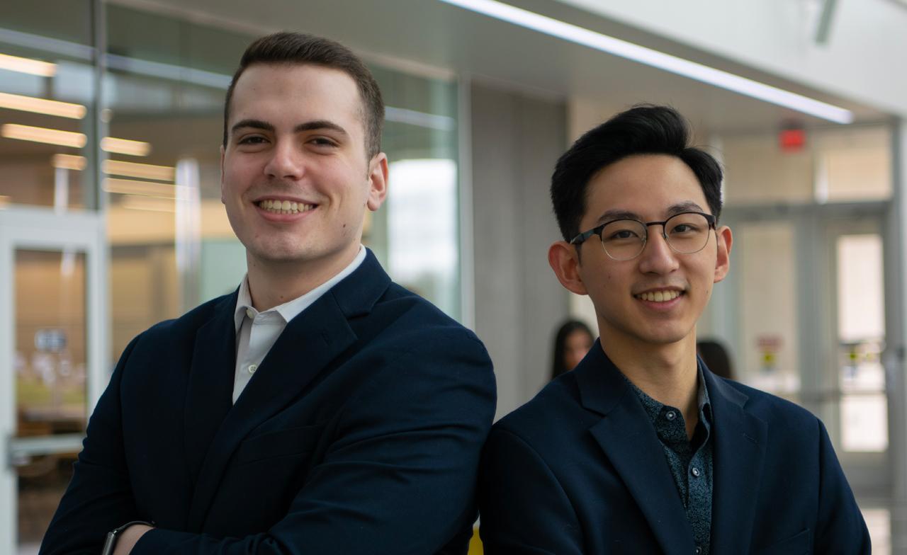 Matthew Lichtinger and Jonathan Lin